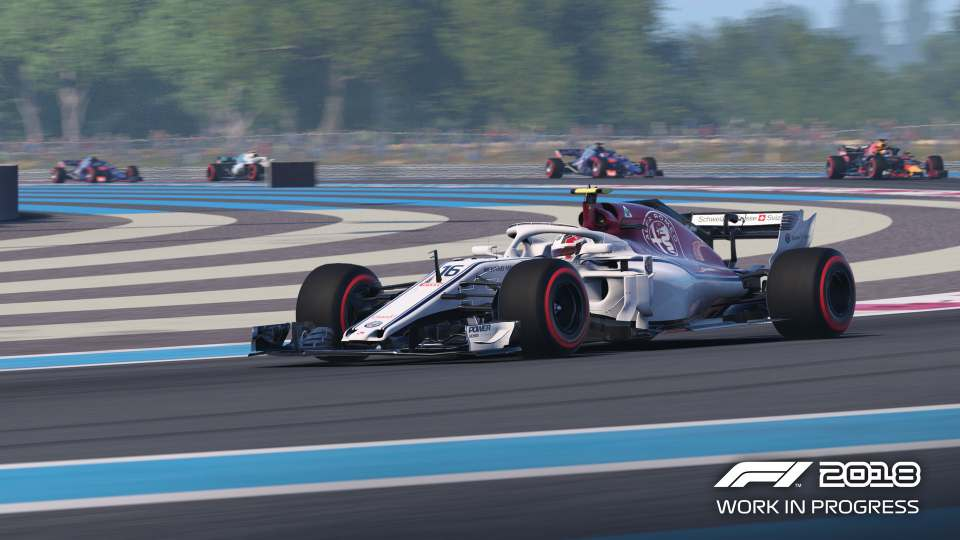 Game đua xe F1 2018