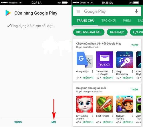 Cách tải game bài về điện thoại Android chơi miễn phí 1