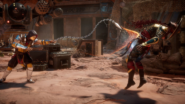 [Fshare] Tải game đối kháng hay nhất cho PC Mortal Kombat 11 Crack