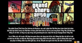 GTA San Andreas Việt Hóa