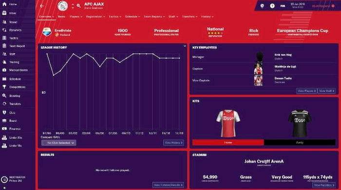 Football Manager 2020 PC miễn phí