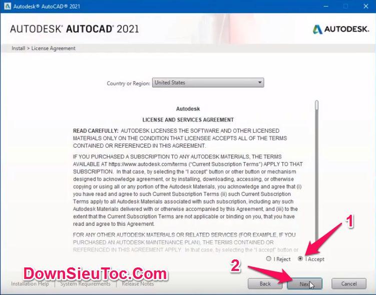 Hướng dẫn cài đặt AutoCAD 2021 mới nhất và kích hoạt bản quyền