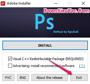 Hướng dẫn cài đặt Photoshop CC 2020 miễn phí