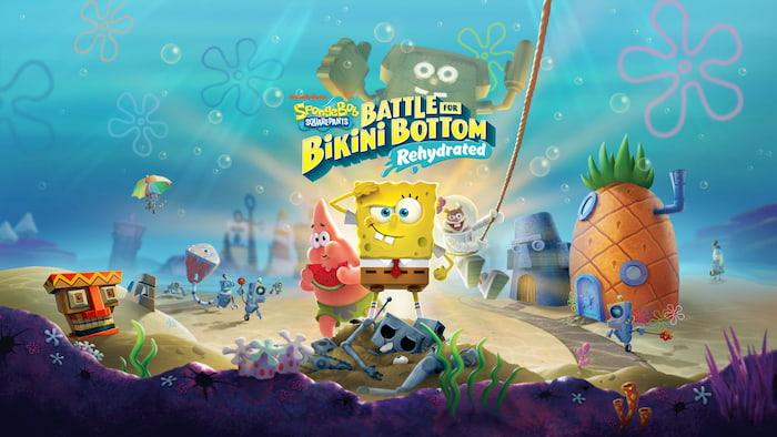 Tải game SpongeBob SquarePants Battle for Bikini Bottom Rehydrated miễn phí cho PC