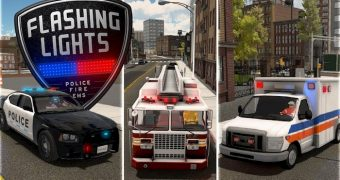 Tải game Flashing Lights Police Firefighting Emergency Services Simulator miễn phí cho PC