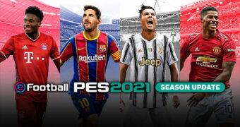 PES 2021 đã chính thức được ra mắt