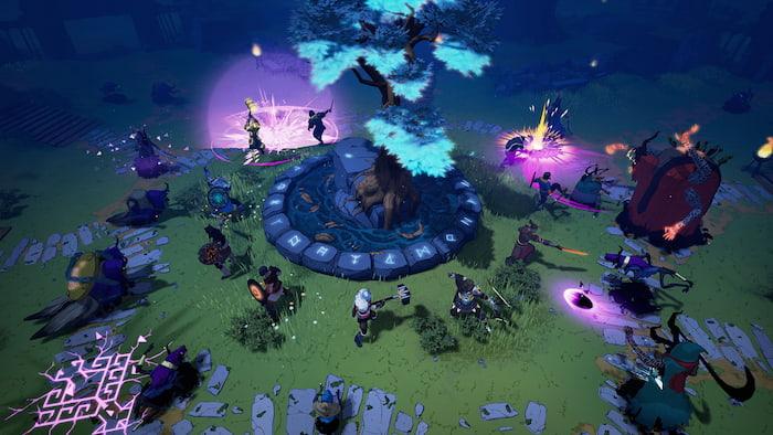Tải game sinh tồnTribes of Midgard miễn phí cho PC
